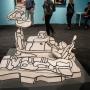 """John Dubuffett - """"Contrapontique Landscape"""""""