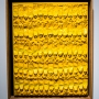 ARMAN - Yellow paint tubes on canvas