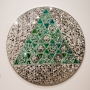 Monir Farmanfarmaian - Untitled (Triangle withing circle)