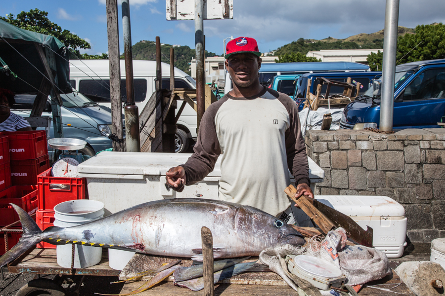 Fish Market - Kingstown, St. Vincent and the Grenadines