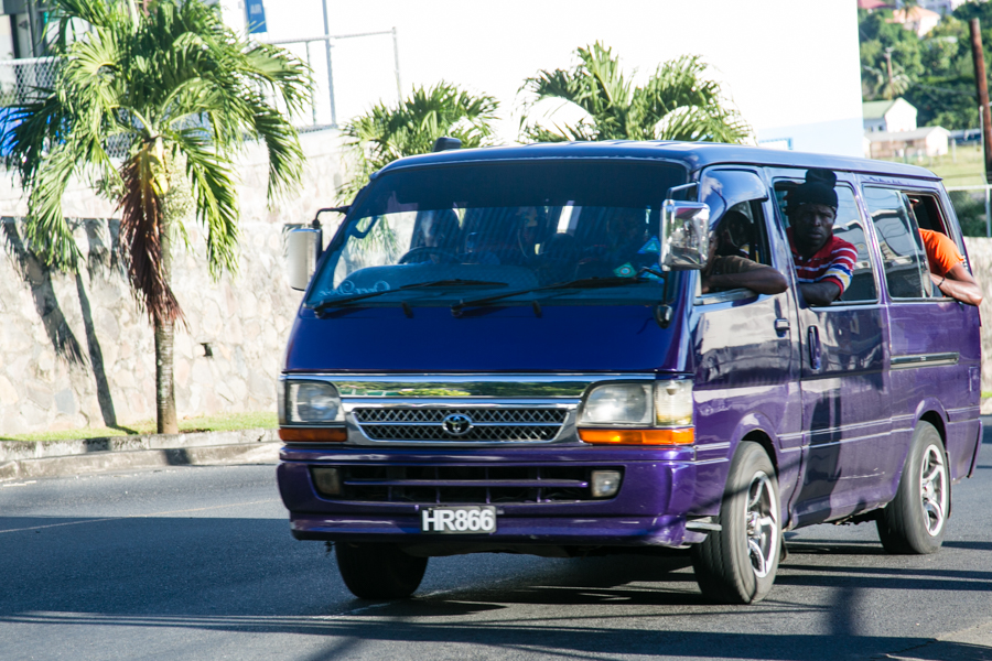 Bus - Kingstown, St. Vincent and the Grenadines